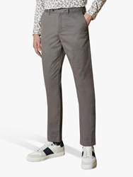 Ted Baker Bake Sincere Slim Fit Chinos Grey Mid