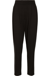 Donna Karan Pleated Stretch Ponte Tapered Pants