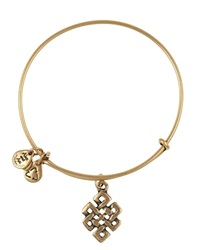 Alex And Ani Endless Knot Bangle Rafaelian Gold