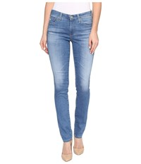 Ag Adriano Goldschmied Prima Mid Rise Cigarette Leg In 12 Years Canyon 12 Years Canyon Women's Jeans Blue