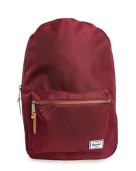 Herschel Burgundy Settlement Backpack