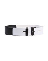 Prabal Gurung Belts White