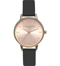 Olivia Burton Ob15md39 Midi Dial Rose Gold Plated Stainless Steel Watch