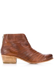 Ink Tex Boots Brown