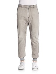 Zanerobe Dynamo Denim Jogger Pants Smoke