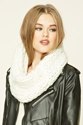 Forever 21 Purl Knit Infinity Scarf