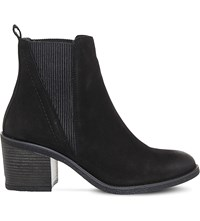 Office Lasoo Leather Chelsea Boots Black Leather
