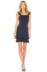 Donna Mizani Lily Mini Dress Blue