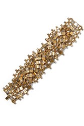 Erickson Beamon River Song Gold Plated Crystal Bracelet
