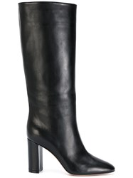 Gianvito Rossi Calf Length Boots Leather Black