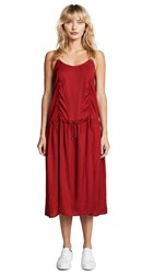 Public School Veola Dress Red