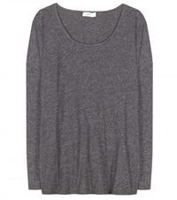 Closed Long Sleeved Top Grey