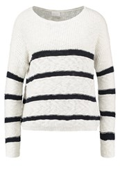 Vila Virawna Jumper Cloud Dancer Total Eclipse Off White