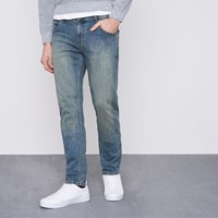 Monkee Genes Blue Slim Tapered Fit Jeans