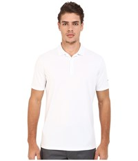 Nike Victory Solid Polo White Black Men's Short Sleeve Pullover