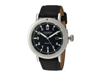 Filson Scout Watch 45 Mm Stainless Steel Horween Leather Watches Black