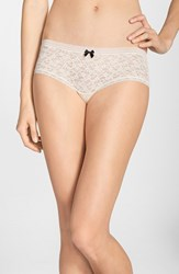 Women's Kensie 'Rhea' Lace Boyshorts Barely There