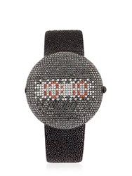 Christian Koban Clou Dinner Watch With Diamonds