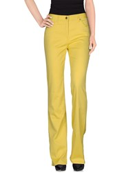Laura Biagiotti Trousers Casual Trousers Women Yellow