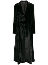 Andrea Ya'aqov Velvet Long Coat 60
