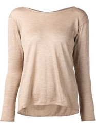 Dusan Loose Fit Sweater Nude And Neutrals