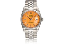 Vintage Watch Women's Oyster Perpetual Datejust Orange