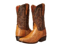 Dan Post Yuma Saddle Tan Cowboy Boots Brown