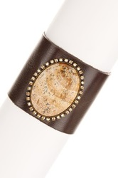 Liz Palacios Riverstone Cuff Bracelet No Color
