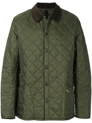 Barbour Heritage Liddesdale Quilted Jacket Cotton Polyamide M Green