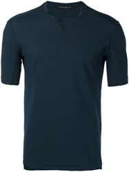Transit Plain T Shirt Blue