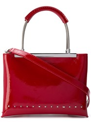 Alexander Wang Dime Satchel Bag Red