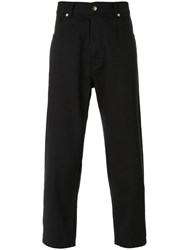 Societe Anonyme 'Staprest' Trousers Unisex Cotton L Blue