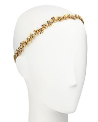 Jennifer Behr Maye Metal Bandeaux Headband Gold
