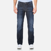 Hugo Boss Green Men's Maine Straight Leg Jeans Navy