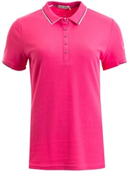 Green Lamb Farrah Club Polo Pink