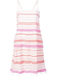 Lemlem Tiki Layer Dress Red