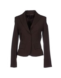 Alysi Blazers Dark Brown