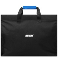 Ader Error Logo Shopping Bag Black