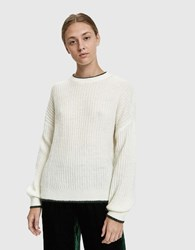 Just Female Estelle Mohair Sweater Off White