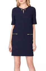 Tahari Women's Scuba Shift Dress