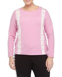Marc Ny Performance Plus Pullover Tie Dye Top Cherry Bls