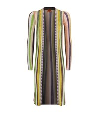 Missoni Pleated Lurex Cardigan Female Multi