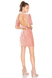 Keepsake Eventually Mini Dress Rose