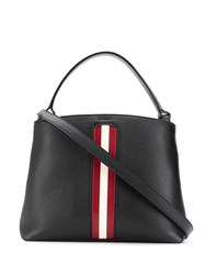Bally Contrast Stripe Tote 60