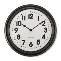 Garden Trading Broadway Wall Clock Gunmetal