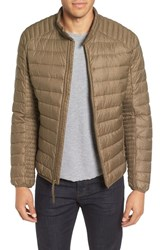 Marc New York Men's By Andrew Lincoln Packable Down Moto Jacket Grove