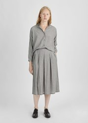 La Garconne Moderne Reader Skirt Grey Check