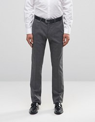 Sisley Slim Fit Suit Trousers In Prince Of Wales Check Grey 901