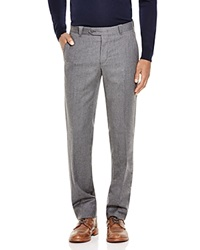 The Men's Store At Bloomingdale's Flannel Regular Fit Trousers Bloomingdale's Exclusive