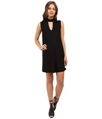 Culture Phit Ashlynn High Neck Dress Black Women's Dress